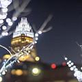 Christmas Lights Holiday Decorations Around Charlotte North Caro by Alex Grichenko