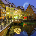 Colmar, Petite Venice, Alsace, France,  by Marco Arduino