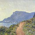 La Corniche Near Monaco by Claude Monet