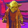 Star Wars Old Poster by Larry Jones
