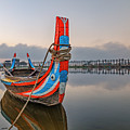 U Bein Bridge - Myanmar by Joana Kruse