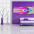 An Example Of Modern Art By Rolf Bertram In An Interior Design Setting by Rolf Bertram