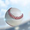 Ball Flying Through The Air by Allan Swart