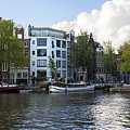 Canals Of Amsterdam by Yefim Bam