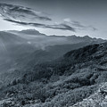 Chilly Winter Sunrise At Lunhgthang Sikkim West Bengal India by Rudra Narayan Mitra