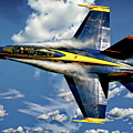 Navy Blue Angels by Anthony Dezenzio