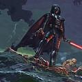 Star Wars Characters Art by Larry Jones