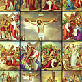 14 Stations Of The Cross by Munir Alawi