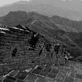 The Mutianyu Section Of The Great Wall Of China, Mutianyu Valley by Dave Porter