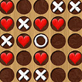 Tic Tac Toe Wooden Board Generated Seamless Texture by Miroslav Nemecek
