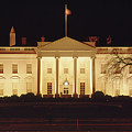141x09 The White House At Night 1973 by Ed Cooper Photography