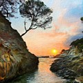 Nature Oil Painting Landscape Images by World Map