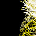 14nl Artistic Glowing Pineapple Digital Art Yellow by Ricardos Creations