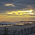 14th Street Fishing Pier Bright by Kevin  Sherf