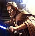Jedi Star Wars Art by Larry Jones