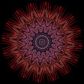 Kaleidoscope Image Created From Light Trails by Amy Cicconi