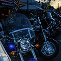 Motorcycles On Main by Marit Runyon