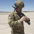 Pararescuemen Conducts A Communications by Terry Moore