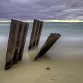 Point Betsie Breakwall by Twenty Two North Photography