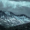 Rocky Mountains Nature Scenes On Alaska British Columbia Border by Alex Grichenko