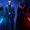 Star Wars 3 Poster by Larry Jones