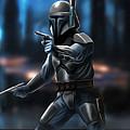 Star Wars Heroes Art by Larry Jones