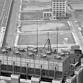 World Trade Center Under Construction 1967 by Bob Bennett