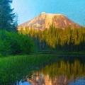 Nature Landscape Paintings by World Map