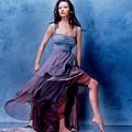 1576 Celebrity Catherine Zeta Jones  by Mery Moon