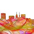 Baltimore Maryland Skyline by Marlene Watson
