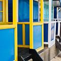 Beach Huts by Tom Gowanlock