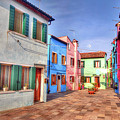 Burano Venice Italy by Paul James Bannerman