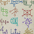 Cabbalistic Signs And Sigils, 18th by Science Source