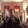 Jlm-1820-henry Sargent-the Dinner Party Henry Sargent by Eloisa Mannion