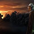 Star Wars Episode 2 Art by Larry Jones