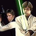 Star Wars Print And Poster by Larry Jones