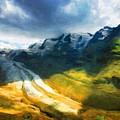 Nature Landscape Light by World Map