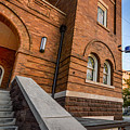16th Street Baptist Church Sign And Steps In Birmingham Alabama by Michael Thomas