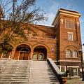 16th Street Baptist Church Steps In Birmingham Alabama by Michael Thomas