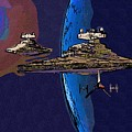 A Star Wars Poster by Larry Jones