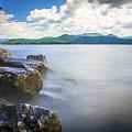 Beautiful Landscape Scenes At Lake Jocassee South Carolina by Alex Grichenko