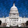Capitol Building by Artistic Panda
