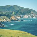 Western Usa Pacific Coast In California by Alex Grichenko