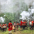 1763 Bushy Run British Counterattack by Randy Steele