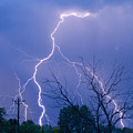 17th Street Lightning Strike Fine Art Photo by James BO  Insogna