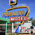 Route 66 - Tucumcari New Mexico by Frank Romeo