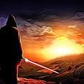Star Wars Heroes Poster by Larry Jones