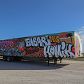 18 Wheeler Art by Dart and Suze Humeston