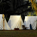 1800s Army Tents by David Lee Thompson