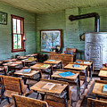 1800's Schoolhouse by Sharon Seaward